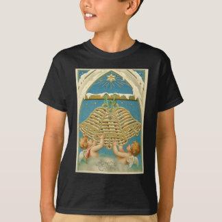 ベスレヘムの天使の天使の鐘の天国の星 Tシャツ
