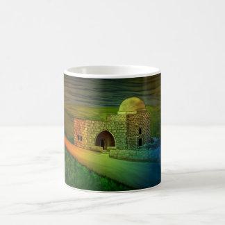 ベスレヘムの郊外のレイチェルの墓 コーヒーマグカップ