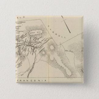 ベスレヘム、ベスレヘムPOのMaplewood PO 5.1cm 正方形バッジ