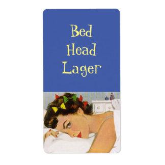 ベッドのヘッドラガーのHomebrewのボトルの分類のラベル ラベル