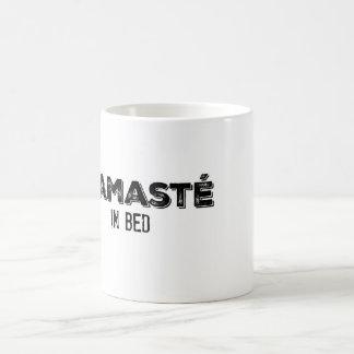 ベッドのマグのNamasté コーヒーマグカップ