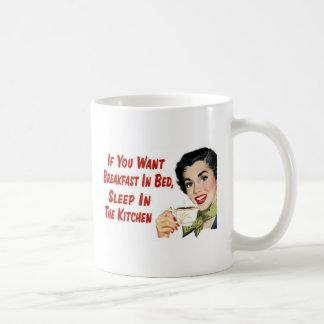 ベッドの朝食 コーヒーマグカップ