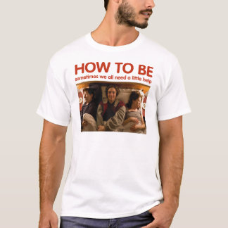 -ベッドの白のTシャツに…ある方法 Tシャツ