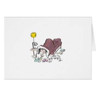 ベッドカードの病人 カード