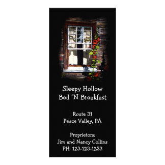 ベッド及び朝食の棚カード: オリジナルのアートワーク ラックカード