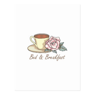 ベッド及び朝食 ポストカード