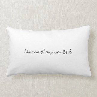 ベッド枕のNamast'ay ランバークッション