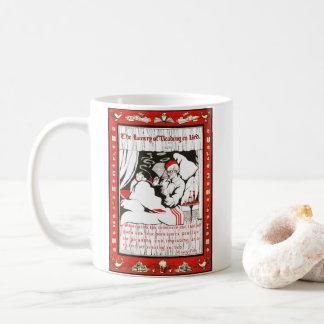 ベッド1905年で読むこと コーヒーマグカップ