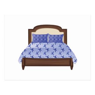 ベッド ポストカード