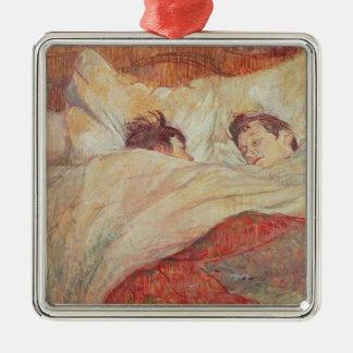 ベッド、c.1892-95 メタルオーナメント