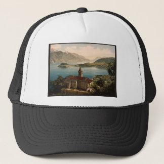 ベッラージョの湖ComoのCapello St.アンジェロおよび眺め キャップ