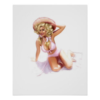 ベティのBellbottoms ポスター