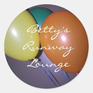 、ベティのRunwayLounge ラウンドシール