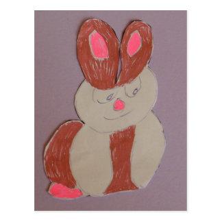 ベティウサギ ポストカード
