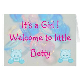 ベティ カード