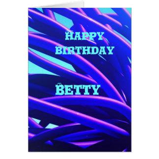 ベティ グリーティングカード
