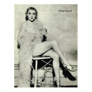 ベティHarnell ポストカード