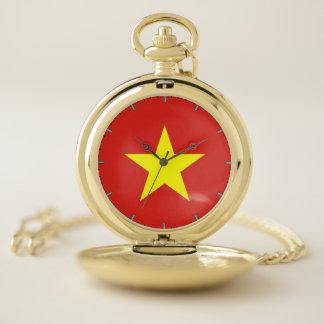 ベトナムのが付いている愛国心が強い壊中時計 ポケットウォッチ