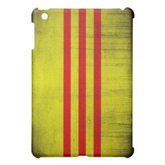 ベトナムのグランジな旗 iPad MINIカバー