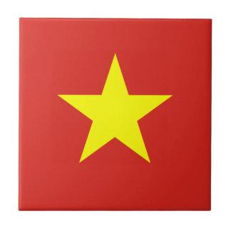 ベトナムのセラミックタイルの旗 タイル