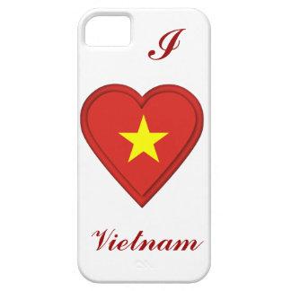ベトナムのベトナム人の旗 iPhone SE/5/5s ケース