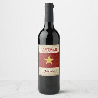 ベトナムのワインのラベル ワインラベル