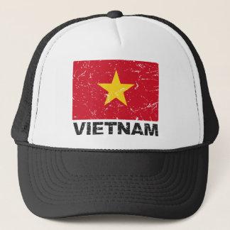 ベトナムのヴィンテージの旗 キャップ