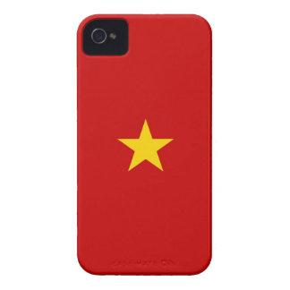 ベトナムの国旗の箱のベトナムの星 Case-Mate iPhone 4 ケース