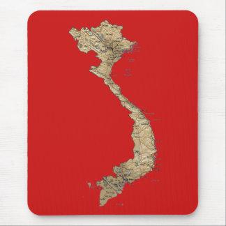 ベトナムの地図のマウスパッド マウスパッド