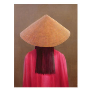 ベトナムの小さい背部眺め ポストカード