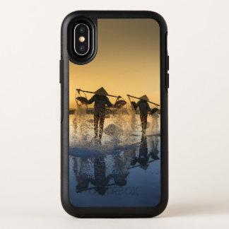 ベトナムの岩塩坑旅行刺激を受けたなiPhoneの場合 オッターボックスシンメトリー iPhone X ケース