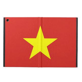 ベトナムの旗との愛国心が強いipadの場合 iPad airケース