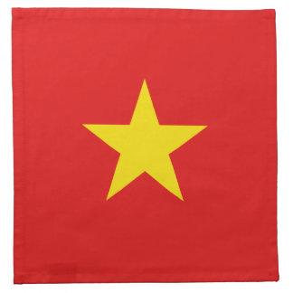 ベトナムの旗のナプキン ナプキンクロス