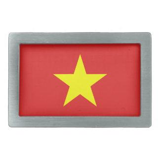 ベトナムの旗の黄色の星のベルトの留め金 長方形ベルトバックル