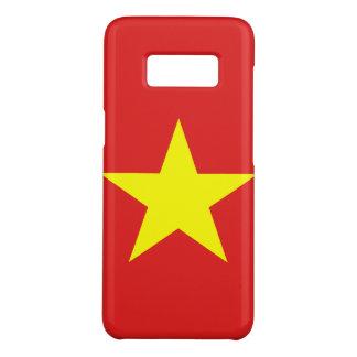 ベトナムの旗の黄色の星Samsungは包装します Case-Mate Samsung Galaxy S8ケース