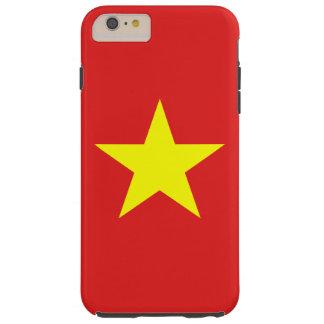 ベトナムの旗のIphoneの場合 Tough iPhone 6 Plus ケース