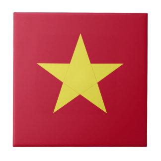 ベトナムの旗 タイル