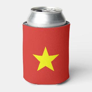 ベトナムの旗 缶クーラー