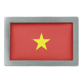ベトナムの旗 長方形ベルトバックル