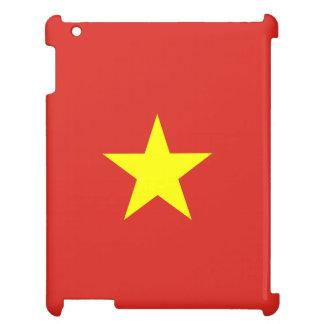 ベトナムの旗 iPadケース