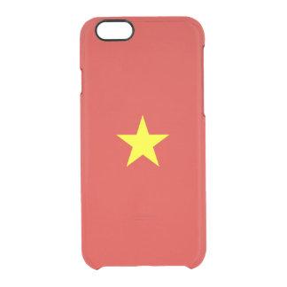 ベトナムの澄んなiPhoneの場合の旗 クリアiPhone 6/6Sケース