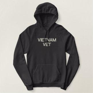 ベトナムの獣医の軍隊の退役軍人 刺繍入りパーカ