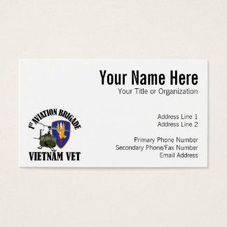 ベトナムの獣医-第1航空BDE UH-1 名刺