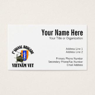 ベトナムの獣医-第1 SIGのBde 名刺