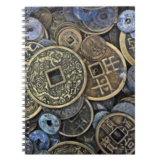 ベトナムの硬貨の閉めて下さい ノートブック