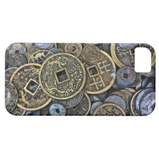 ベトナムの硬貨の閉めて下さい iPhone SE/5/5s ケース