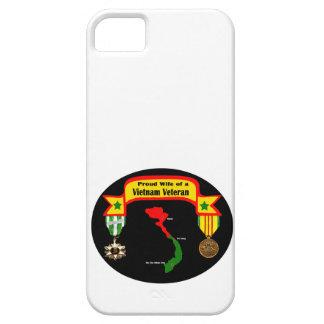 """""""ベトナムの退役軍人の誇り高い妻""""のIPhone 5の場合 iPhone SE/5/5s ケース"""