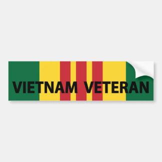 ベトナムの退役軍人 バンパーステッカー