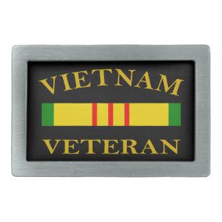 ベトナムの退役軍人 長方形ベルトバックル