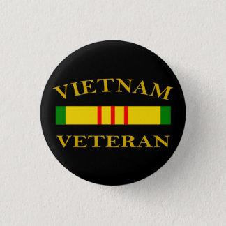 ベトナムの退役軍人 3.2CM 丸型バッジ
